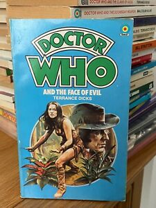 doctor who target book -  THE FACE OF EVIL - 1st edition