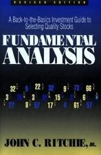 Fundamental Analysis: A Back-to-the-Basics Investment Guide to-ExLibrary