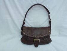 Jones Brown Leather Shoulder Bag