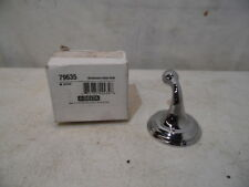 Delta 79635 Windermere Bathroom Robe Hook Polished Chrome Less Screw Nos