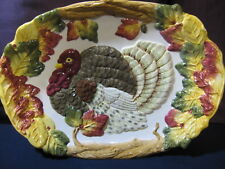 Turkey Platter 18 by 13 inches