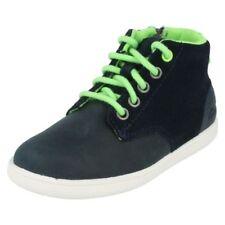 Chaussures à zip en cuir pour garçon de 2 à 16 ans pointure 32