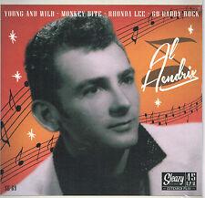 AL HENDRIX - YOUNG & WILD / MONKEY BITE / GO DADDY ROCK + 1 (50s Rockabilly Bops