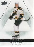 2013-14 Upper Deck Trilogy Hockey #13 Zdeno Chara Boston Bruins