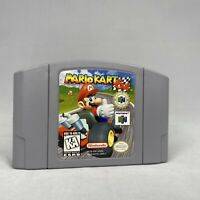 excellent! Mario Kart 64 Nintendo 64 n64 Authentic clean and tested