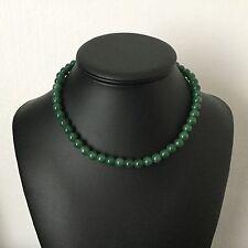 Collier Vintage En Pierres Dures Malachite French Vintage Necklace