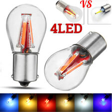 4 LED Filament 1157 BAY15D 21/5W Car Reverse Backup Tail Stop Brake Light Bulb
