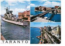 MARINA MILITARE Saluti da Taranto Incrociatore Lanciamissili Garibaldi  NV LEGGI
