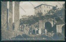 Firenze Fiesole Teatro Romano Edipo Re Foto cartolina QQ2298