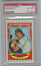 Ron Santo 1973 Kellogg's  #54 Baseball Card Chicago Cubs PSA 6 EX-MT