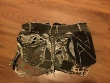 Crust Punk Patched Shorts