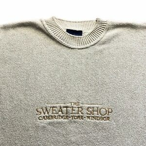 THE SWEATER SHOP VINTAGE Jumper - Size L/XL - Great Condition - Mens
