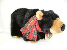 Steiff Standing Black Bear, Eddie Bauer, 2009, Plush, With Tags, 7 In. Tall