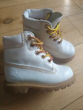 Very rare TIMBERLAND Baby Boots, man made collar  genuine leather  size 5