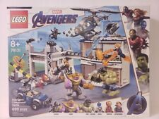 Lego Marvel Avengers Compound Battle Building Toy Set 699pcs 76131