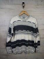 vtg Coogi Cosby Style  Brice sweatshirt sweater jumper refA21 L/XL