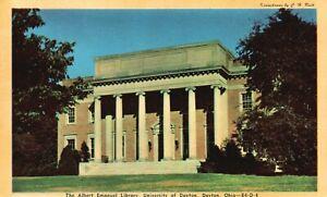 Dayton, OH, University of Dayton, Emanuel LIbrary, Vintage Postcard a2920
