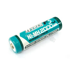 1 pc AA LR06 2000mAh 1.2V NI-MH rechargeable battery CELL/RC MP3 2A HYPER BLUE