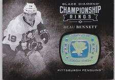 16-17 Black Diamond Beau Bennett Championship Rings Stanley Cup Penguins 2016