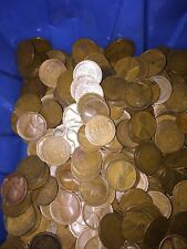 Wheat Coins TEEN WHEATS  All Dated 1916-1919 P MINT 10 Rolls 500 Coins#3