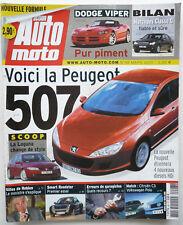 Presse - Magazine - ACTION AUTO MOTO - n° 98 - Mars 2003