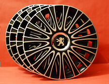 "15"" Peugeot 207,308,Partner,306,605... Wheel Trims / Covers, Hub Caps,Quantity 4"