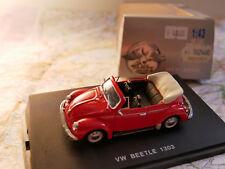 UNIVERSAL HOBBIES VW BEETLE 1303 RED  NEW 1:43