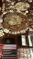OLD US/WORLD MIXED COIN HUGE LOT SILVER ESTATE SALE COLLECTION