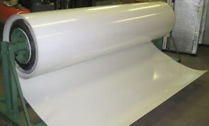 8' x 33' Polar White Filon Smooth Fiberglass Siding RV Trailer Camper Motorhome
