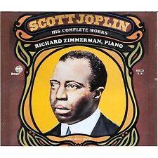 Various Artists : Scott Joplin: His Complete Works CD