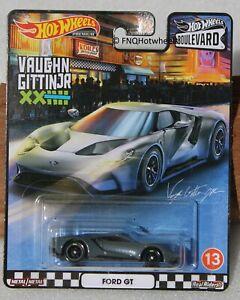 Hot wheels Boulevard Ford GT Vaughn Gittin Jr  FNQHotwheels FH317