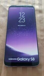 PERFECT REPLICA SAMSUNG GALAXY S8 BLACK DISPLAY PHONE (NON-WORKING)