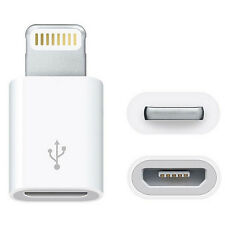 MX 5pin Micro USB to 8pin Lightning adapter for Apple devices iPad iPod iPhone