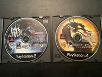 Mortal Kombat Deception Premium Pack Playstation 2 PS2 Video Game Disc Only