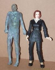 "THE X-FILES * Dana Scully & Alien Action Figures * 1998 Macfarlane * 5.25"" /13cm"