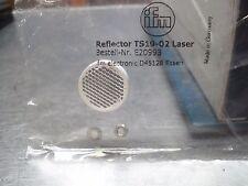 ifm  TS19-02 Reflector Laser  E20993 free ship  USA SELLER