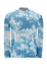 Simms SOLARFLEX Long Sleeve Crewneck ~ NEW Blue Cloud Camo ~ Large ~ CLOSEOUT