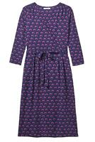 New ex White Stuff Ladies Purple Aida Wrap Midi Dress Size 8 10 12 14 16 18