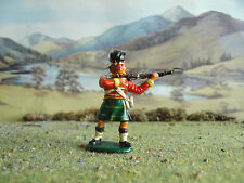 Vintage Timpo Napoleonic Highlander standing firing 1:32 painted
