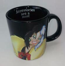Disney Villains Cruella de Vil Mug - 101 Dalmatian - Disney Collectible FREE DEL