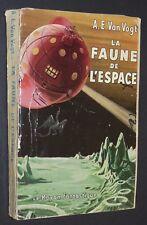COLLECTION RAYON FANTASTIQUE GALLIMARD FAUNE DE L'ESPACE A.E. VAN VOGT EO 1952