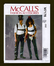 Chaps, Holster, Hats + More~Costume Accessories  Sewing Pattern~McCall's 7176