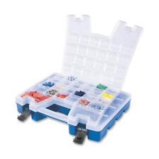 "Akro-Mils Portable Organizer 13-3/8""x18-1/4"" x3-5/8"" Be Base/Cl Lid 06118"