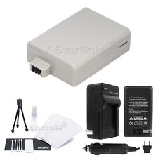 LP-E5 Battery + Charger + BONUS for Canon Rebel XS, XS1, T1i, Kiss F, X2, X3