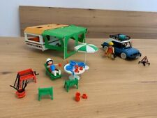 Playmobil Klicky Caravan 3249 und PKW-Reise 3210 aus 1977