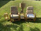 vintage rattan bamboo furniture, 16 Pieces