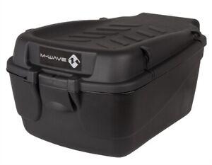 M-Wave Fahrradbox Fahrradkoffer Amsterdam 18 Liter XL Easy Box Gepäckträgerbox