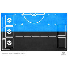 Pokemon Gym Playmat 2-Tone Blue - Pokemon Play Mat (PL0131)