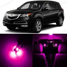 21 x Pink LED Interior Lights Package For 2007 - 2013 Acura MDX + PRY TOOL