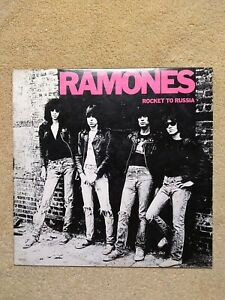THE RAMONES - Rocket to Russia - SR6042 1977 SIRE - LP Vinyl Record